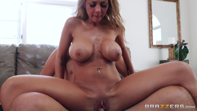 BRAZZERS com - Busty MILF Gags On Big Cock Video thumb #8