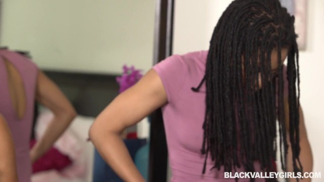 Black ebony lesbians playing with pussy Video thumb #1