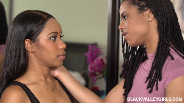 Black ebony lesbians playing with pussy Video thumb #3