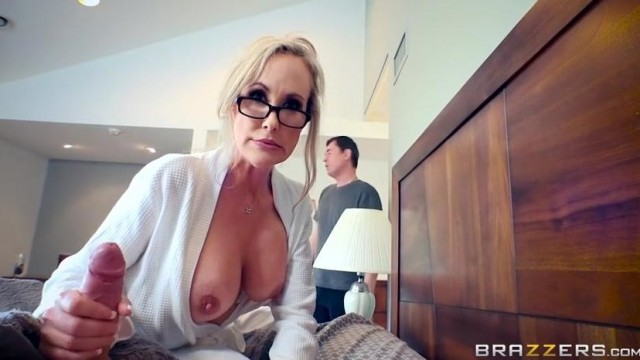 Brandi Love caught masturbating stepson by dad Video thumb #12