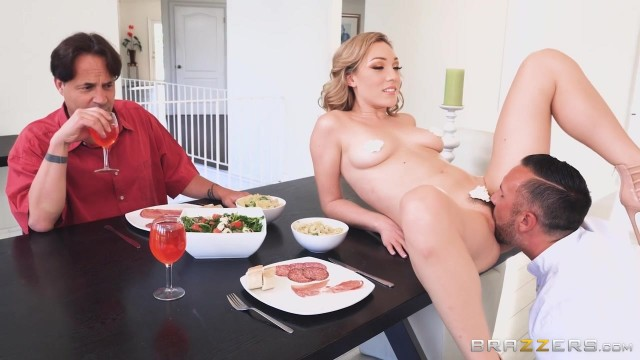 Crazy Pussy Licking Scene from Brazzers