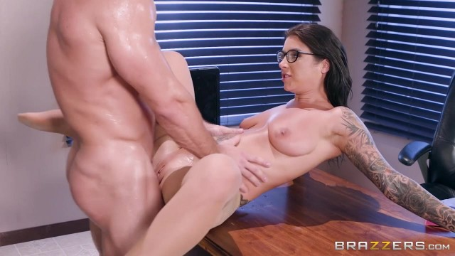 Inked MILF in nylon sucks and fucks Video thumb #9