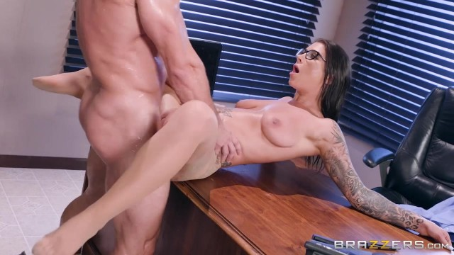 Inked MILF in nylon sucks and fucks Video thumb #10