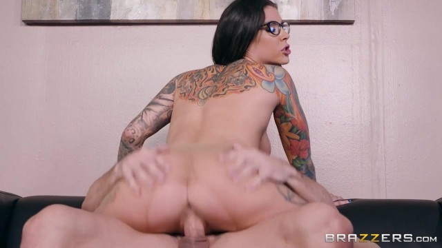 Inked MILF in nylon sucks and fucks Video thumb #17