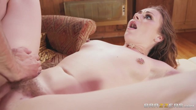Brazzers Studio - Del Ray Sucks Big Fat Cock Video thumb #16