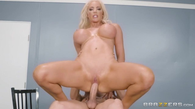Nicolette Shea Porn - MILF gives hot blowjob and rides huge dick Video thumb #5