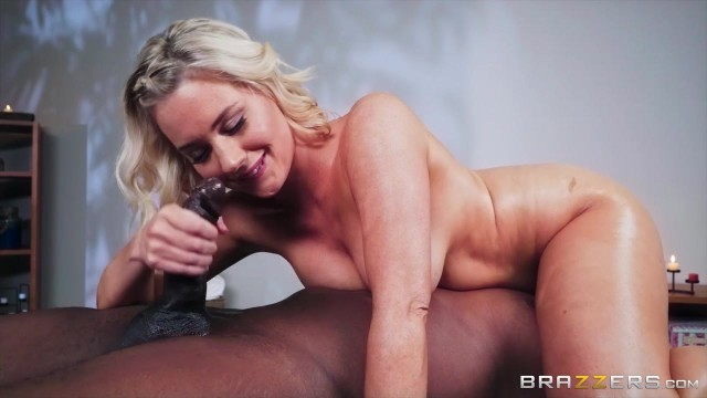 Big Cock Interracial Nuru Massage made in Brazzers