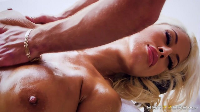 Bridgette B is horny from massage and fucks the masseur Video thumb #2