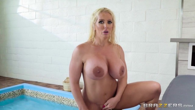 BBW StepMom Alura Jenson Sucks Jordi's cock Video thumb #17