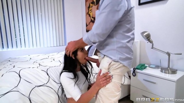 Petite Nanny Gags On Her Hirer's Big Cock Video thumb #2