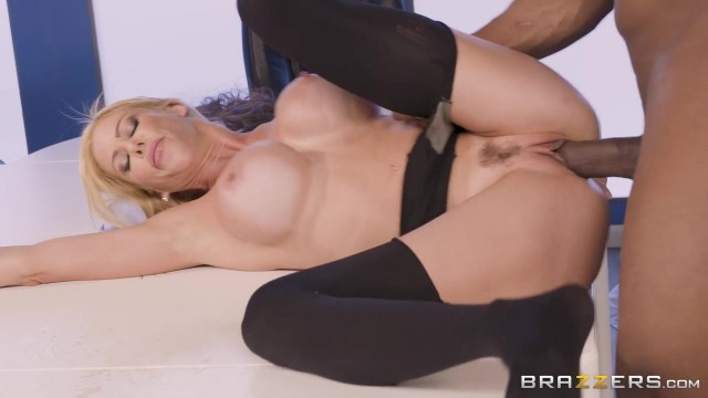 BBC takes care of big boobed white MILF Video thumb #11