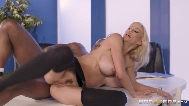 BBC takes care of big boobed white MILF Video thumb #16