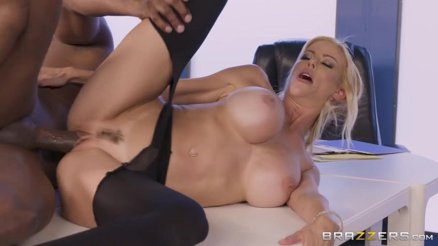 BBC takes care of big boobed white MILF Video thumb #17