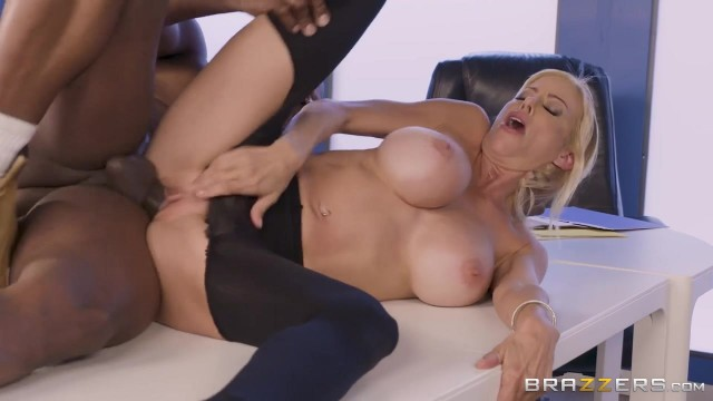 BBC takes care of big boobed white MILF Video thumb #18