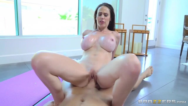 Busty hot milf McKenzie Lee sucks her yoga instructor Video thumb #18