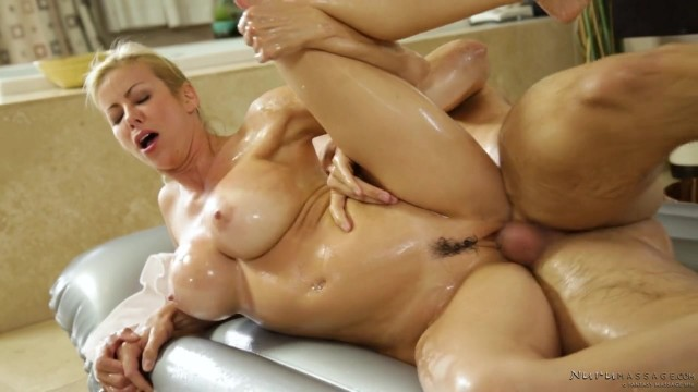 Alexis Fawx - MILF fucked during oily Nuru massage Video thumb #13