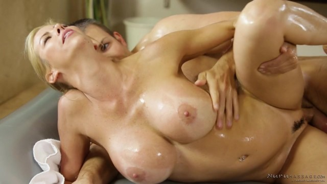 Alexis Fawx - MILF fucked during oily Nuru massage Video thumb #14