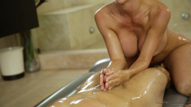 Alexis Fawx - MILF fucked during oily Nuru massage Video thumb #2