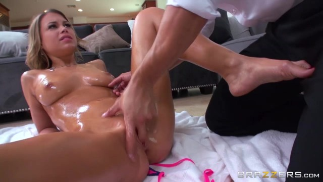 Kendall Kayden oiled up and fingered by stepdad Video thumb #13
