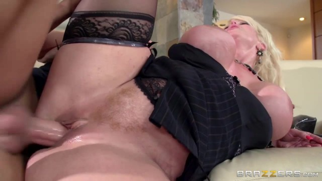 Young lad fucks hot stepmom with giant tits Video thumb #12
