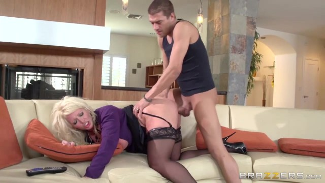 Young lad fucks hot stepmom with giant tits Video thumb #6