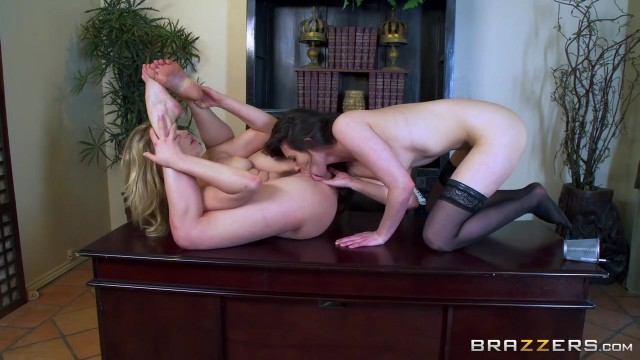 Mia Malkova and Casey Calvet goes lesbian after lunch Video thumb #6