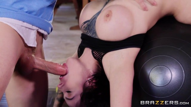 Harlow Harrison - Busty MILF deepthroats and does anal porn Video thumb #3