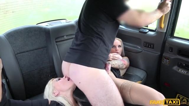 Fake Taxi - Threesome with two blonde bimbos Video thumb #15
