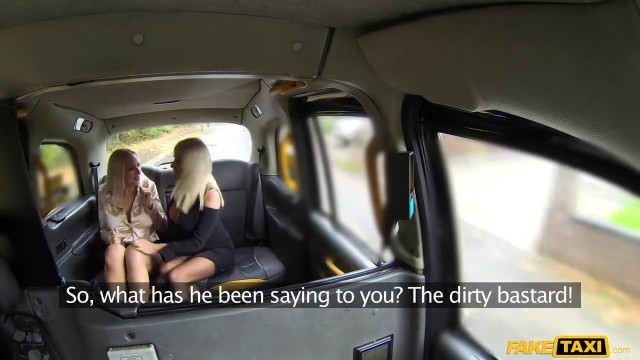 Fake Taxi - Threesome with two blonde bimbos Video thumb #3