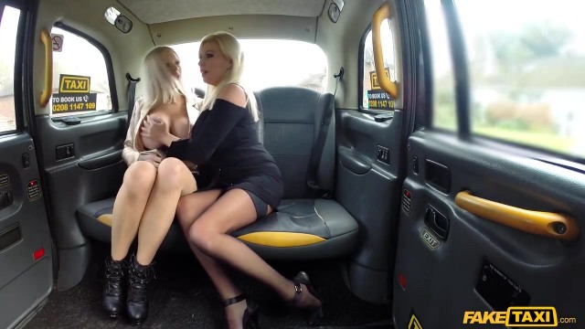 Fake Taxi - Threesome with two blonde bimbos Video thumb #4