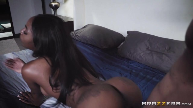 Sarah Banks - Naughty Black Pussy fucked by burglar Video thumb #8
