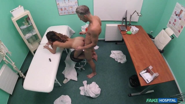 Fake Hospital - Doctor smashes spanish slut
