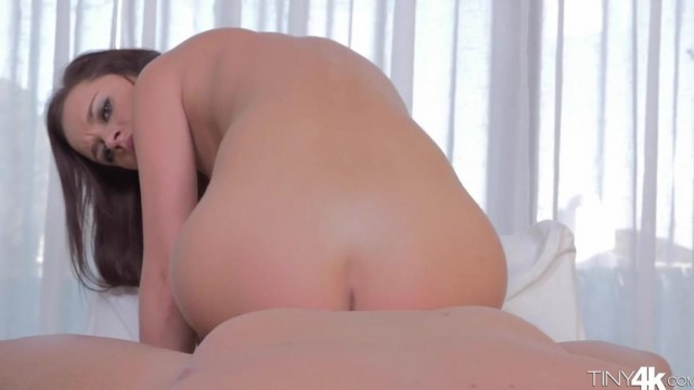 Bald guy licks Lea Guerlin's shaved cunt Video thumb #12