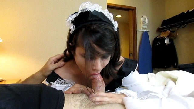 Nyxi Leon - Male Fucks Shemale Maid In The Ass Doggy Style Video thumb #6