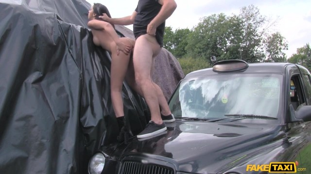 MILF Julia De Lucia Eats old man ass in the fake taxi Video thumb #9