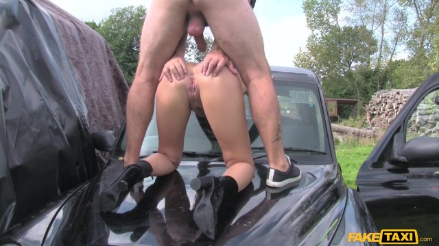 MILF Julia De Lucia Eats old man ass in the fake taxi Video thumb #15