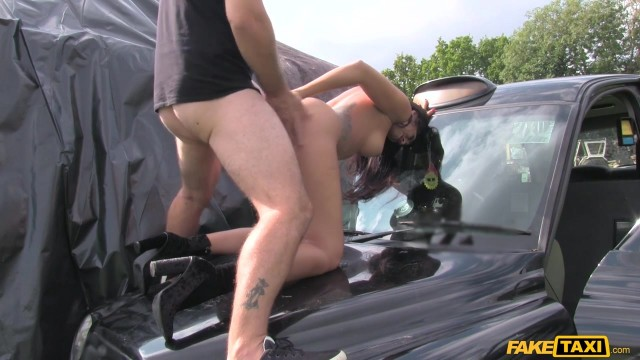MILF Julia De Lucia Eats old man ass in the fake taxi Video thumb #17