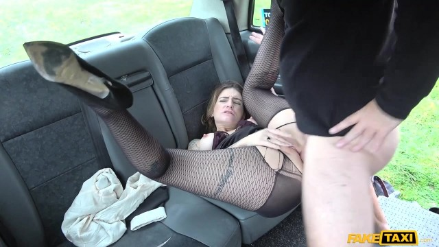 Slut gives a rimjob to fake taxi driver before getting fucked Video thumb #14