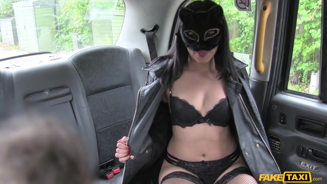 Fake Taxi - Masked wild cat sucks and fucks big cock Video thumb #0