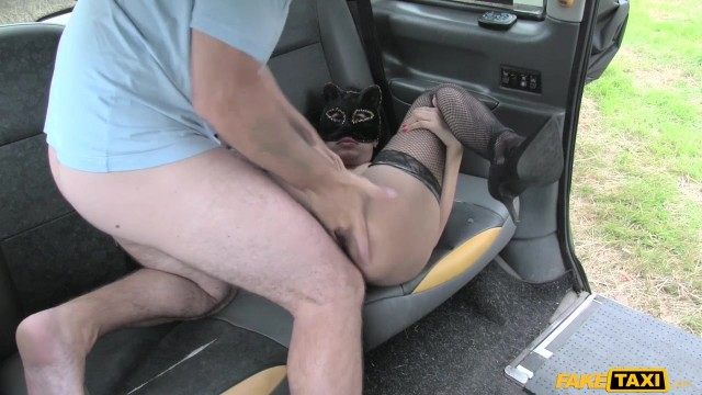 Fake Taxi - Masked wild cat sucks and fucks big cock Video thumb #9