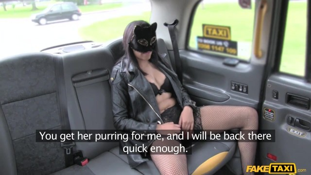 Fake Taxi - Masked wild cat sucks and fucks big cock Video thumb #3