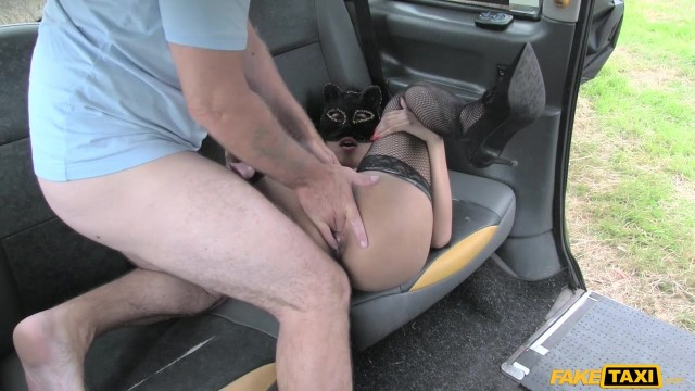 Fake Taxi - Masked wild cat sucks and fucks big cock Video thumb #8