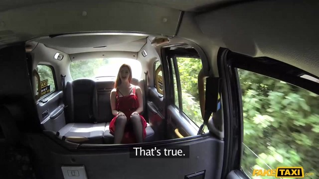 Redhead Zara DuRose fucked in the taxi Video thumb #1