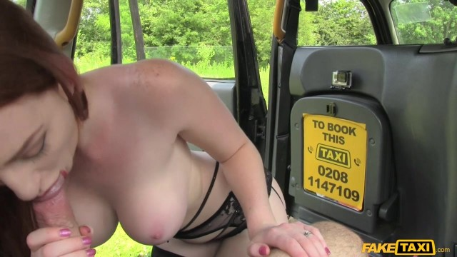 Redhead Zara DuRose fucked in the taxi Video thumb #7