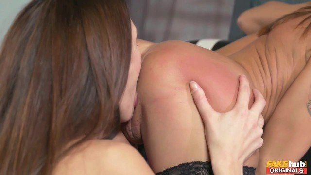 Horny Lesbians in arousing pussy licking scene Video thumb #4