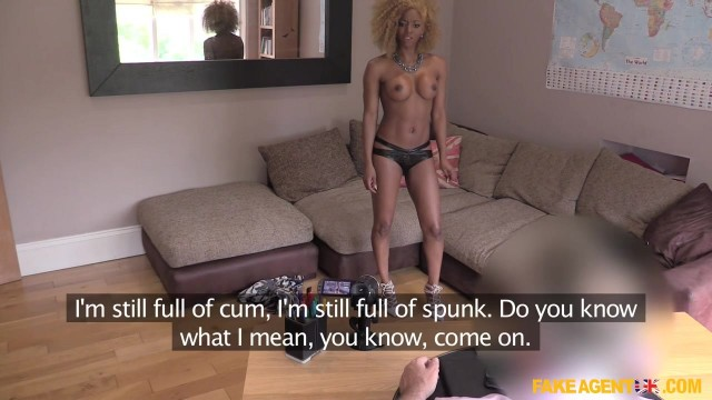 Fake Agent - Black Nympho Wants a Second Porn Casting