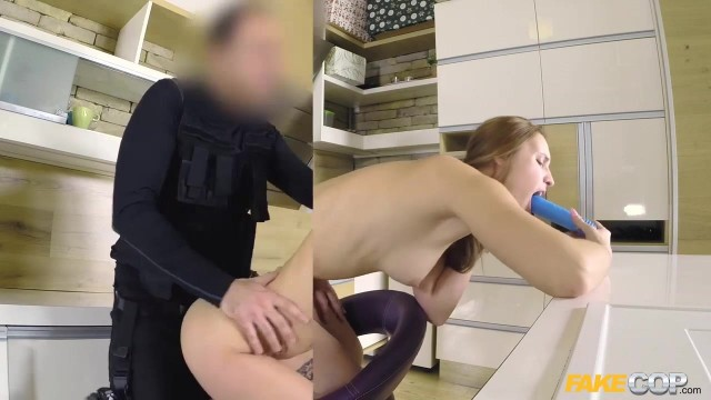 Fake Cop - Lulu Love cocks in her pussy Video thumb #11