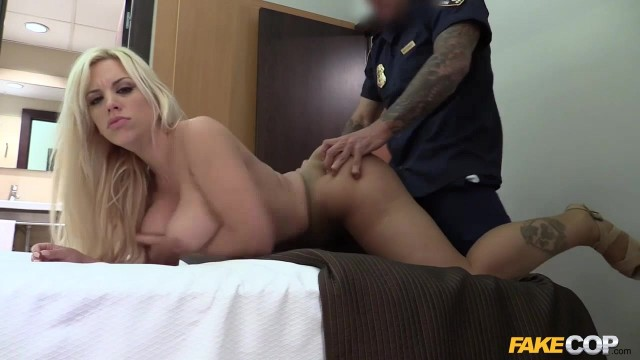 Blondie Fesser fucked by fake police officer Video thumb #0