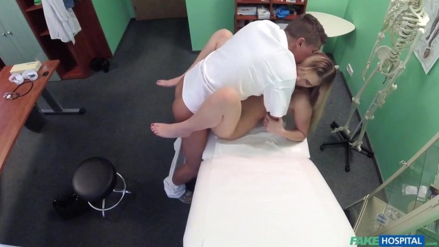 Katy Pearl busty blondy goes to hospital with hidden secret in her pussy Video thumb #16
