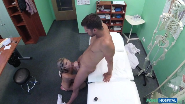 Russian skinny blonde Ginga Gerson in Fake Hospital Video thumb #12